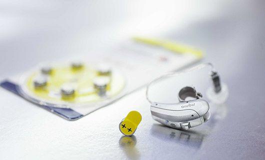 Pilas para audífonos